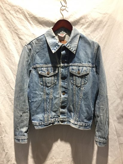 90's OLD Levi's 70500 Denim Jacket Made in France Indigo / 1