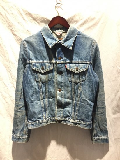 90's OLD Levi's 70500 Denim Jacket Made in France Indigo / 2