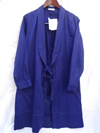 50's ~ Vintage ROF? Wrap Around Coat Navy