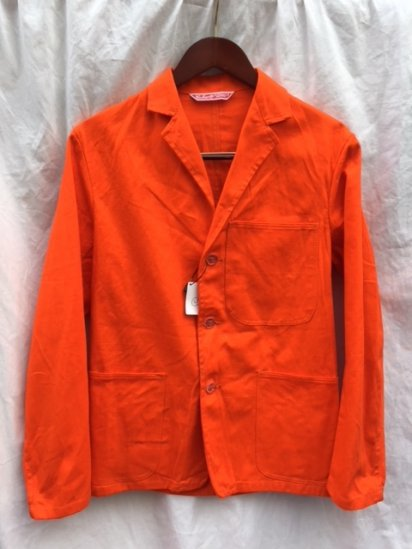 70's ~ 80's Vintage Dead Stock UK Carhartt Work Jacket MADE IN SCOTLAND Orange / 2