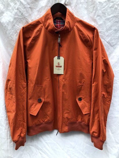 "Baracuta G-9 Harrington Jacket Made in England ""Four Climes"" Pumpkin"