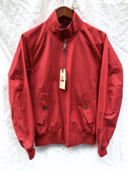 Baracuta G-9 Harrington Jacket Made in England Red