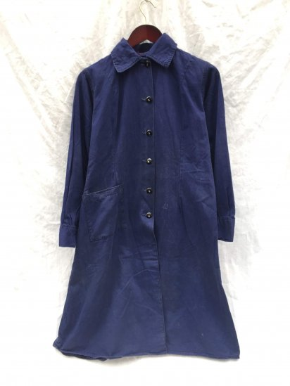 40's Vintage British Military W.A.A.F(Women's Auxiliary Air Force) Overall Coat Navy