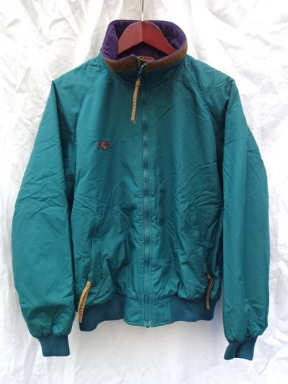 80〜90's Old Columbia Pile Lined Nylon Bulouson