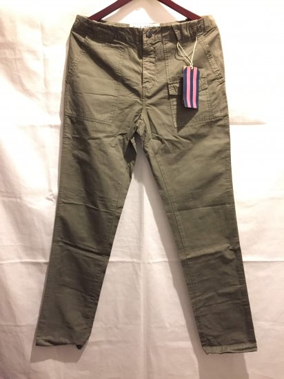 Jack Wills Cotton Poplin Bush Pants Olive<BR>SALE !! 7,800+Tax → 4,680+Tax