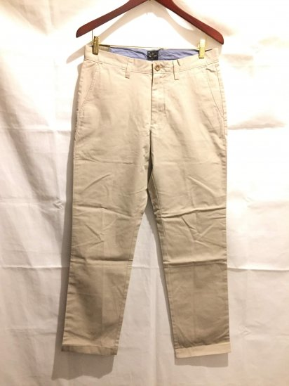 J.Crew Urban Slim Fit (THE SUTTON) Light Weight Chino Pants<BR>SALE !! 7,800 + Tax → 5,000 + Tax