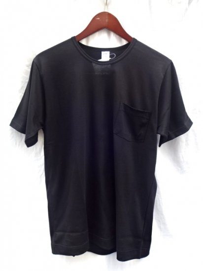 Gicipi Cotton Jersey Pocket Tee MADE IN ITALY Black