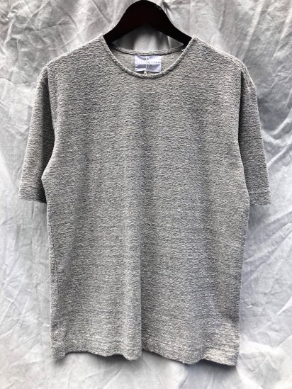 KESTIN HARE SPEY TEE Grey<BR>SALE!! 9,000+tax → 6,300+tax