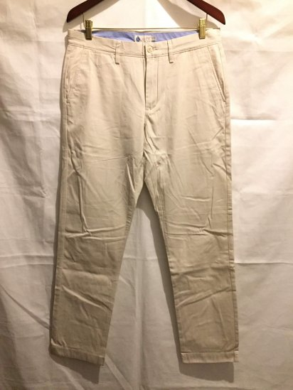 J.Crew Classic Fit (THE BLEECKER) Light Weight Chino Pants<BR>SALE !! 7,800 + Tax → 5,000 + Tax