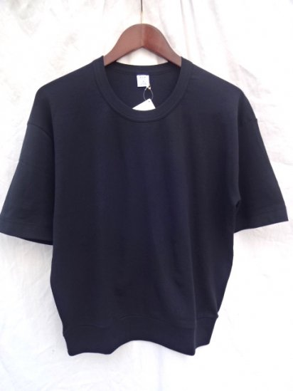 Gicipi Cotton Jersey PT style Big Tee MADE IN ITALY Black