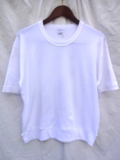 Gicipi Cotton Jersey PT style Big Tee MADE IN ITALY White