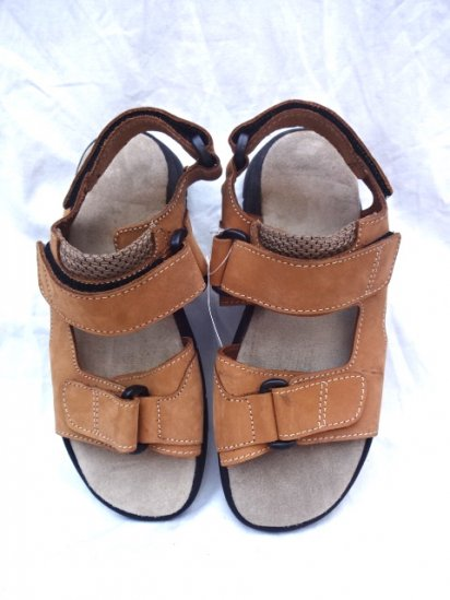 00's〜 Dead Stock British Military Tropical Sandals Women's Made in Italy Tan