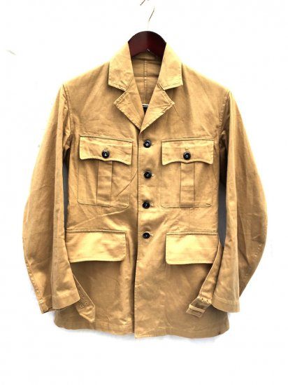 50's ~ Vintage Dead Stock British Army 1949 Pattern Khaki Drill Jacket Khaki