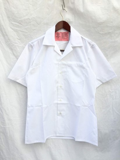 90's Dead Stock US Army Medical Shirts White S