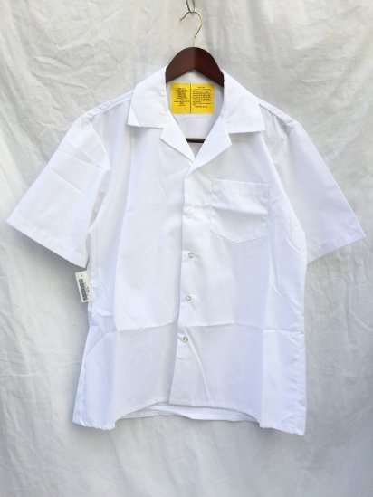 90's Dead Stock US Army Medical Shirts White M
