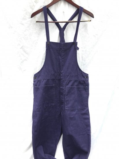 50's Vintage British Railways Bib & Braces (Overalls) Navy