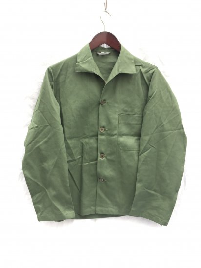 Dead Stock Swedish Army Shirts Olive 40