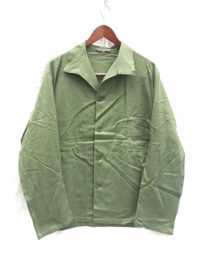 Dead Stock Swedish Army Shirts Olive 56