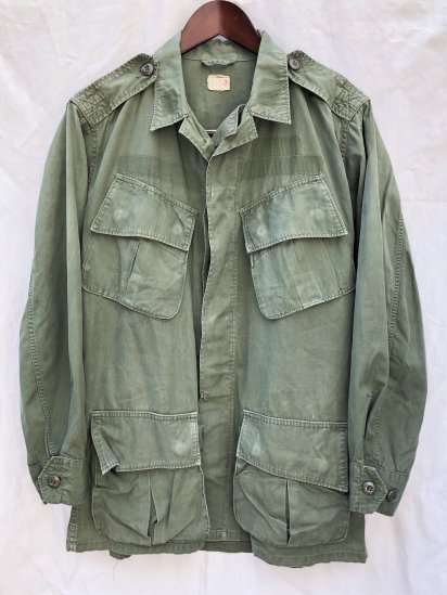 60's Vintage US Army 2nd Pattern Jungle Fatigue Jacket Small - Regular / 1