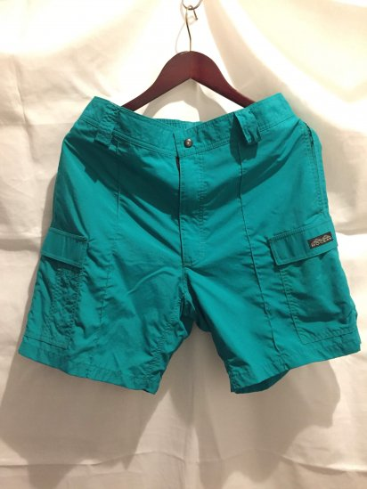 MOCEAN Cargo Shorts Made in U.S.A Teal<BR>SALE!! 12,800 + Tax → 7,000 + Tax