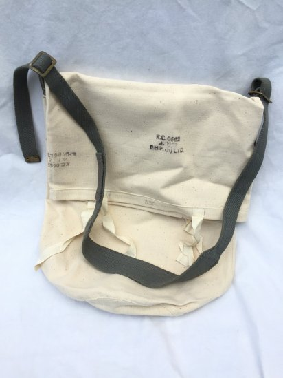 Remake Shoulder Bag Made by 40's ~ 50's Vintage Dead Stock British Military Equipment / 2