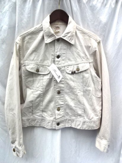 "60's Vintage LEE 100-J ""WESTERNER"" Jacket MADE IN U.S.A Natural / 1"