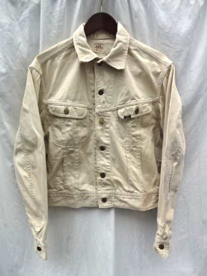 "60's Vintage LEE 100-J ""WESTERNER"" Jacket MADE IN U.S.A Natural / 2"