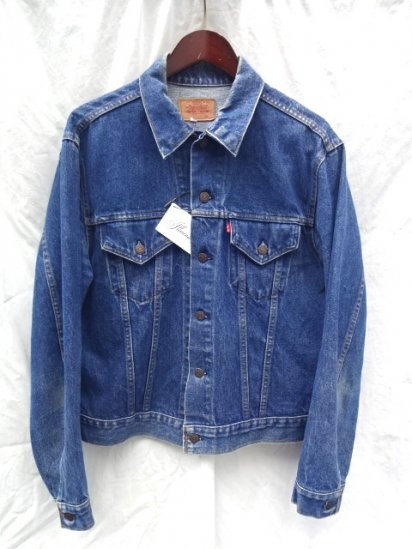 70's Vintage LEVI'S 70505 Small-e MADE IN U.S.A ealry model Indigo / 2