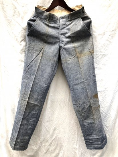 "40's Vintage Dead Stock Pin Check Trousers ""The Famous Putnam Brand"" Pin Check / 2"