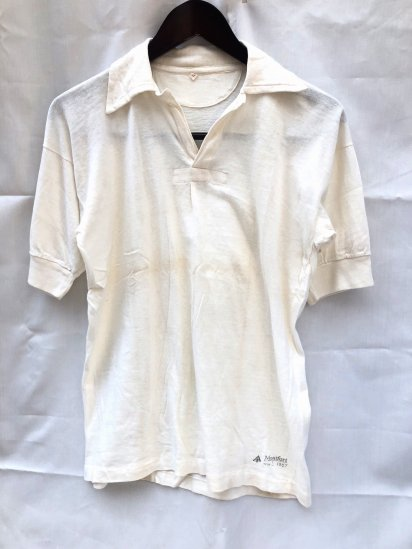 50's Vintage Dead Stock British Military PT (Physical Training) Tops White / 1