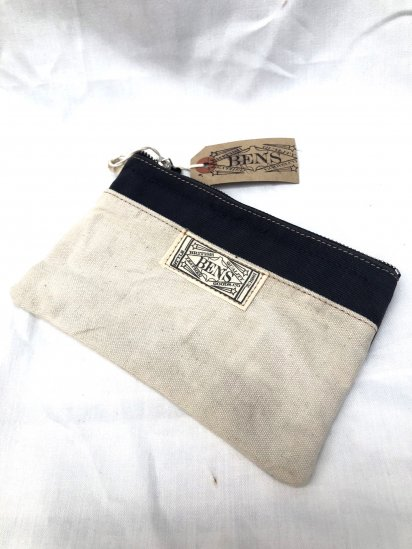 BENS LEATHER GOODS.CO Zip Top Large Pouch / 2
