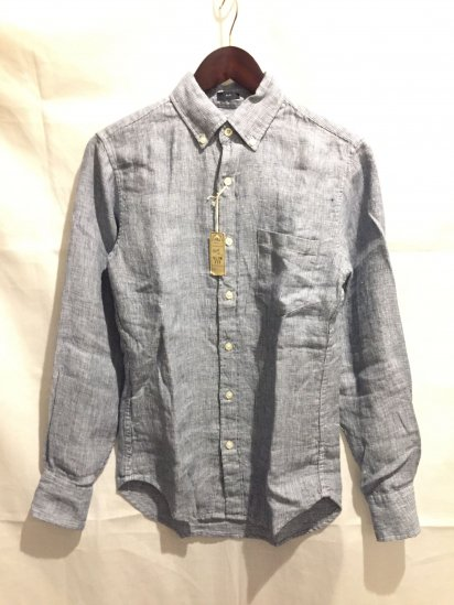 J.Crew Slim Fit Linen Pin Check Shirts<BR>SALE!! 8,500 + Tax → 5,000 + Tax