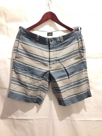 J.Crew Linen Border Shorts<BR>SALE! 6,800 + Tax → 2,900 + Tax