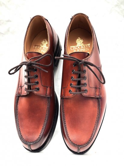 "Crockett & Jones ""Wexford"" Made in ENGLAND Cestnut"