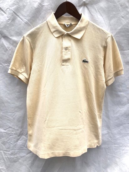 80's ~ 90's Vintage Lacoste Polo Shirts Made in France / 76