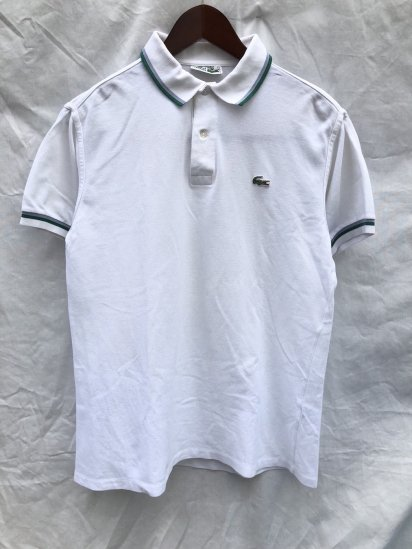 70's ~ 80's Vintage Lacoste Polo Shirts Made in France / 77