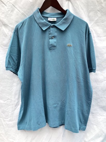 80's ~ 90's Vintage Lacoste Polo Shirts Made in France / 78