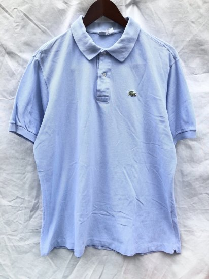 80's ~ 90's Vintage Lacoste Polo Shirts Made in France / 80