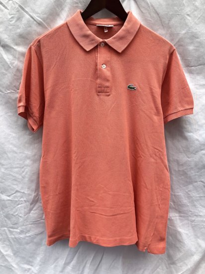 70's ~ 80's Vintage Lacoste Polo Shirts Made in France / 81