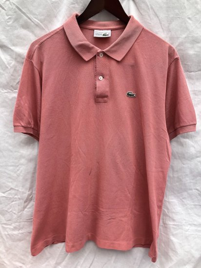 80's ~ 90's Vintage Lacoste Polo Shirts Made in France / 82