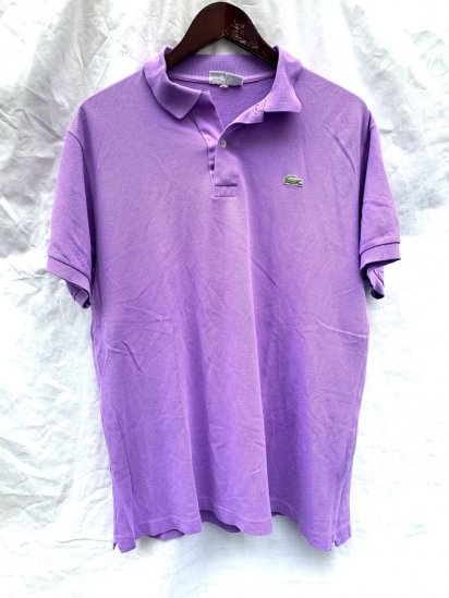 70`s LACOSTE Polo Shirts Made In France