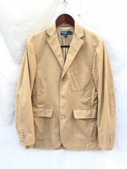USED Ralph Lauren Chino 3B Blazer Khaki