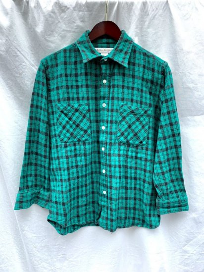 80∼90`s Old Banana Republic Flannnel Check Shirts Made In USA