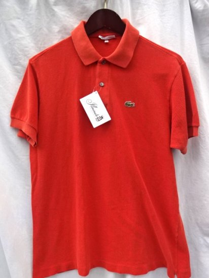 70's Vintage Lacoste Polo Shirts Made in France / 86