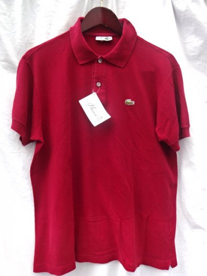 70's Vintage Lacoste Polo Shirts Made in France / 88