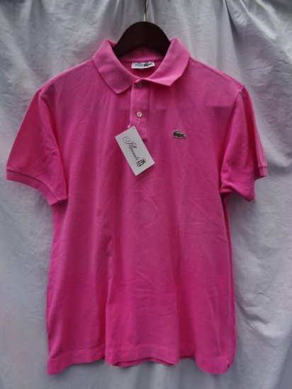70's Vintage Lacoste Polo Shirts Made in France / 89