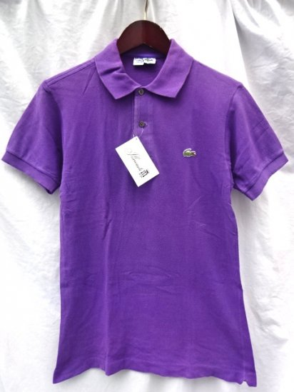 70's Vintage Lacoste Polo Shirts Made in France / 90