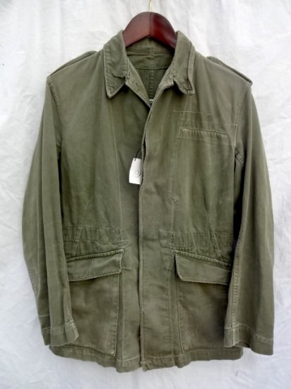 60's Vintage British Army Jacket Overall Green Olive