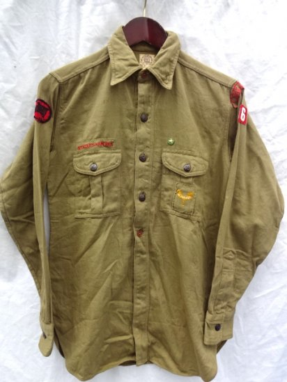 ~50's Vintage Boy Scouts Twill  Shirts