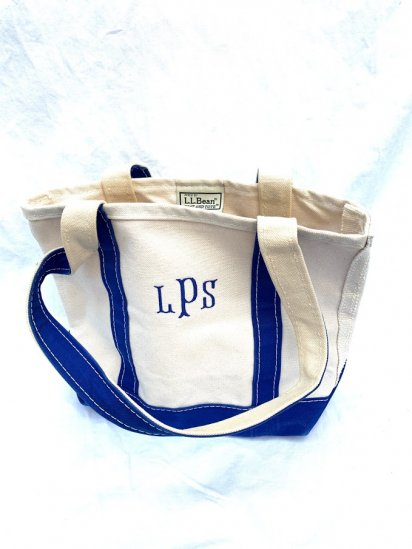 90∼00`s LL.Bean Dead Stock Mini Tote Bag Made In USA